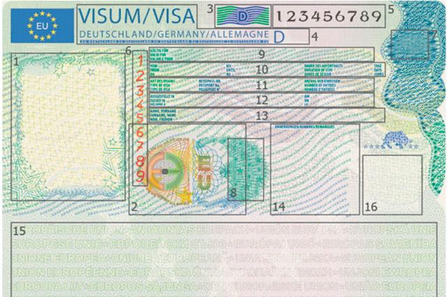 Deutschland visum schengen Schengen Visum
