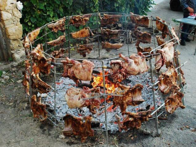 The most delicious lamb dish in Crete