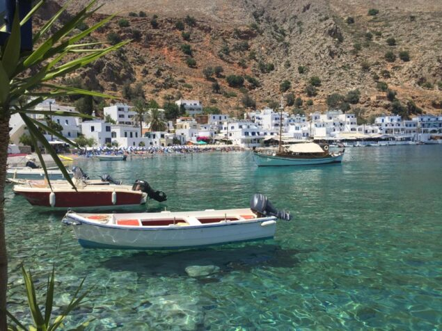 A magical place in the south of Crete