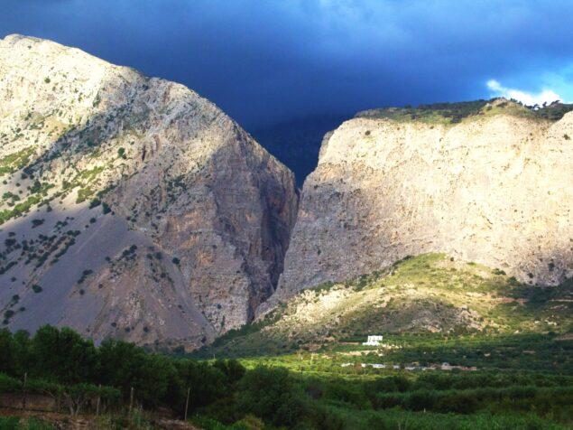 Picturesque village Monastiraki